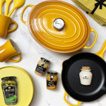 Mallie Le Creuset Mustard Collection