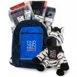 """Zebra Pens """"Zen's Online Adventures"""" Scavenger Hunt"""