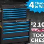 $2,100 Channellock  Tool Chest Giveaway