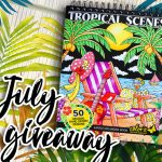 ColorIt's Tropical Scenes Book Giveaway