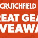$350 Crutchfield Gift Card Giveaway