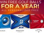 Golf Balls For A Year Sweepstakes