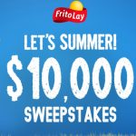 """Tasty Rewards """"Let's Summer $10,000"""" Sweepstakes"""