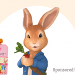 Win a Year of Free Peter Rabbit Organics Pouches Giveaway