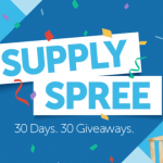 Supply Spree 30 days of Giveaways