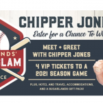 The Sugarlands' Grand Slam VIP Experience Sweepstakes