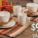 Autumn Table Setting Giveaway