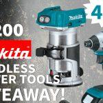 Makita Cordless Power Tools Giveaway