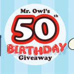 Mr. Owl's 50th Birthday Giveaway