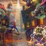 Thomas Kinkade Studios 'Spider-Man vs. the Sinister Six' Sweepstakes