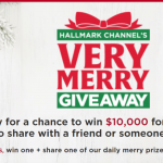 Hallmark Channel's Very Merry Giveaway Promotion