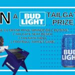 Bud Light NFL Tailgate Prize Pack Giveaway