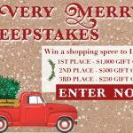 Have a Very Merry Sweepstakes