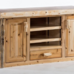 Northern Log Entertainment Center Giveaway