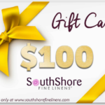 $100 SouthShore Linens Gift Card Giveaway