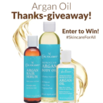 Cococare's Argan Oil Thanks-Giveaway