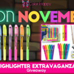 Coloring Highlighter Extravaganza Giveaway!
