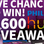 $2,600 Philips Hue Giveaway!