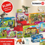Schleich $1,000 Holiday Toy Giveaway