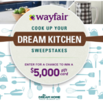 The Food Network Cook Up Your Dream Kitchen Sweepstakes