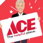 Ellen $500 Ace Hardware Gift Card Giveaway