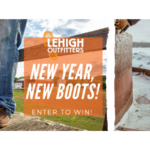 Lehigh Outfitters New Year, New Boots Giveaway