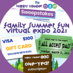Happy Camper Family Summer Fun Virtual Expo 2021 Sweepstakes