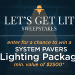 System Pavers Lighting Package Giveaway