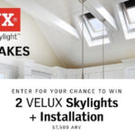 HGTV's VELUX Skylight Sweepstakes