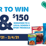 The General Mills and Weis Markets Game Day Sweepstakes