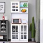HOMCOM Modern Kitchen Cabinet Pantry Giveaway
