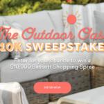 Outdoor Oasis 10k Giveaway