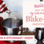 Not Your Granny's Bake Off Sweepstakes