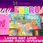 Laugh Out Loud Coloring Pack Giveaway!
