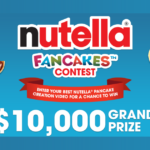The Nutella Fancakes Contest (Video Entry)