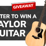 Taylor Acoustic Guitar Giveaway