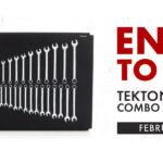 Tekton Wrench Set Giveaway