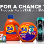 The Tide Sweepstakes (AMOE ENTRY)