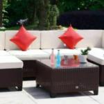 Spring Rattan Patio Furniture Set Giveaway