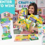 Crayola x Craft Girls  Virtual Summer Camp Giveaway