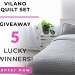 Vilano Quilt Set Giveaway
