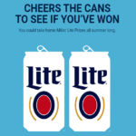 The Miller Lite Summer 2021 Instant Win Game and Sweepstakes