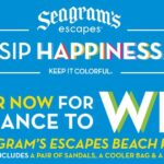 The Seagram's Escapes Spring Break Beach Pack Sweepstakes