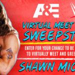 A&E + WWE Virtual Meet and Greet Sweepstakes