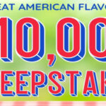 Great American Flavors $10,000 Sweepstakes