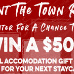 Ménage à Trois Paint the Town Red Sweepstakes