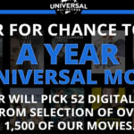 A Year of Movies Sweepstakes
