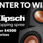 Crutchfield Klipsch Shopping Spree Giveaway