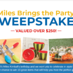 Miles Brings the Party Sweepstakes