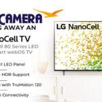 Beach Camera LG NanoCell TV Giveaway